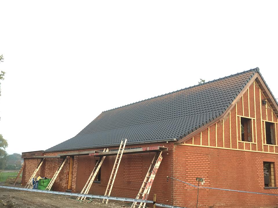 Dakwerken nieuwbouw Verhelst