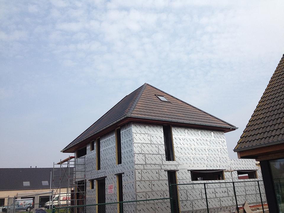 Dakwerken nieuwbouwwoning