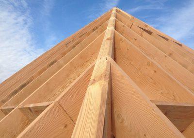 Houtconstructies voor dakwerken
