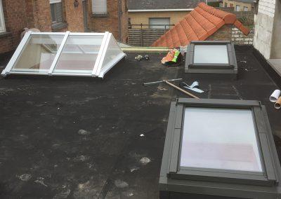 Renovatie platte daken EPDM
