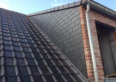 Dakwerken nieuwbouw met dakkapel