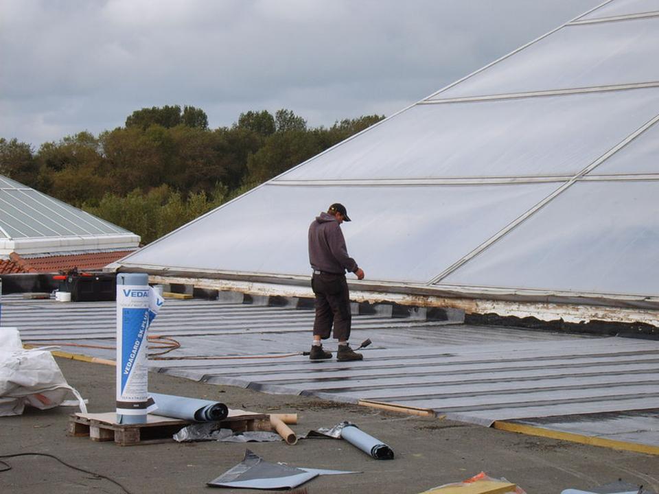 Bitumen - platte daken