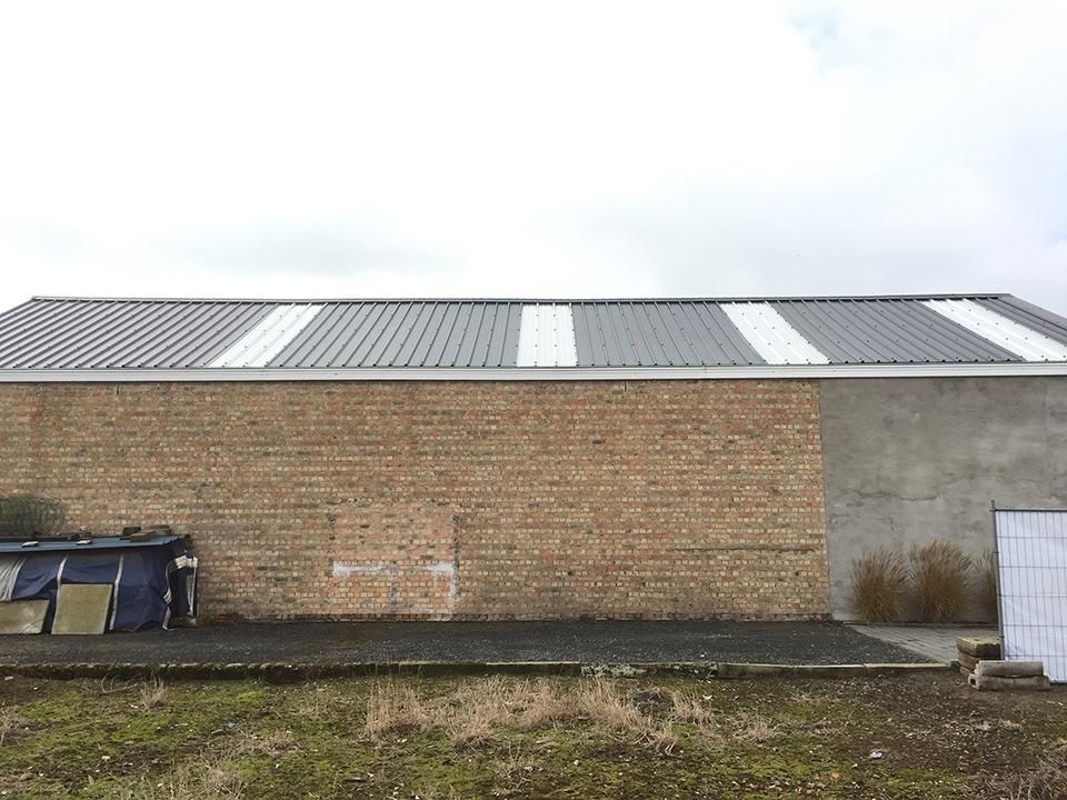 Renoveren dak zinken platen